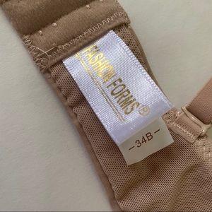 Fashion Forms Intimates & Sleepwear - NWOT Fashion Forms Nude Plunge Bra 34B